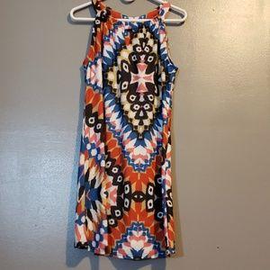 Arueh Dress sz s Aztec design